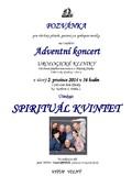 Adventní koncert kliniky 2014