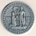 Stříbrná medaile Univerzity Karlovy pro doc. Radima Kočvaru