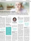 Inkontinence moči - Tabu onemocnění